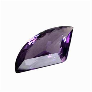 6 Carat Purple Color Natural Fancy Amethyst Loose