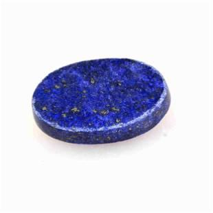 36 Carat Blue Color Natural Oval Lapis Loose Gemstone 1