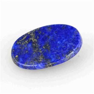 23.95 Carat Blue Color Natural Oval Lapis Loose