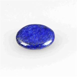 21.25 Carat Blue Color Natural Oval Lapis Loose