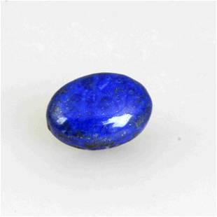 21 Carat Blue Color Natural Oval Lapis Loose Gemstone 1