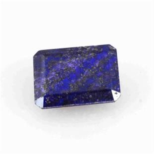 19.45 Carat Blue Color Natural Octagon Lapis Loose