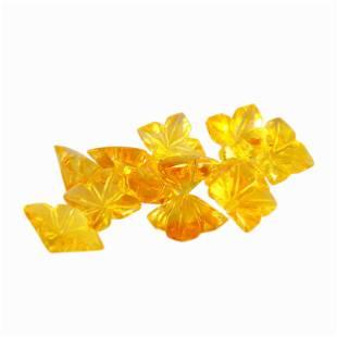 5.15 Carat Yellow Color Natural Square Citrine Loose