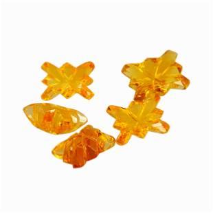 5.65 Carat Yellow Color Natural Octagon Citrine Loose