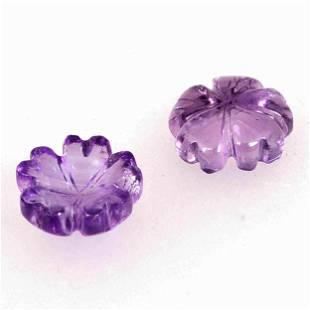 5.95 Carat Purple Color Natural Round Amethyst Loose