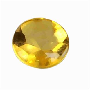 1 Carat Yellow Color Natural Round Citrine Loose
