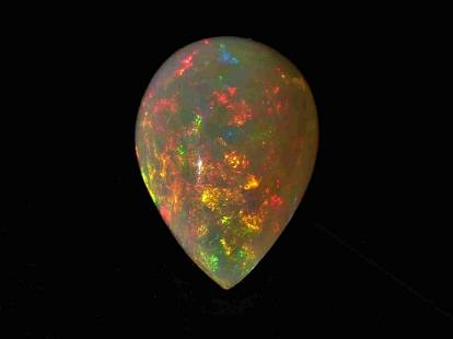 Opal Welo 3.23 ct ** PEAR MIXED CUT **