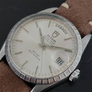Mens Tudor Oyster Prince Ref 94510 Date Day 36mm