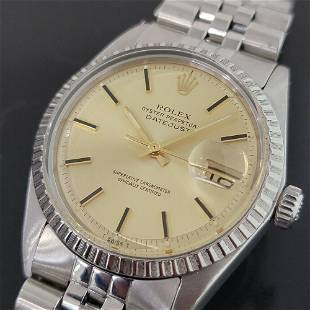 Mens Rolex Oyster Datejust 1603 36mm Automatic 1970s