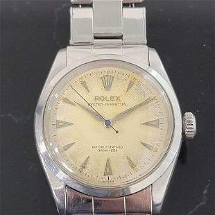 Mens Rolex Oyster Perpetual Ref 6284 34mm Automatic