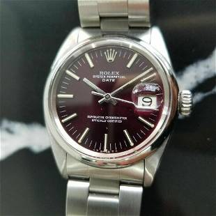 Mens Rolex Oyster Perpetual Date 1501 35mm Automatic