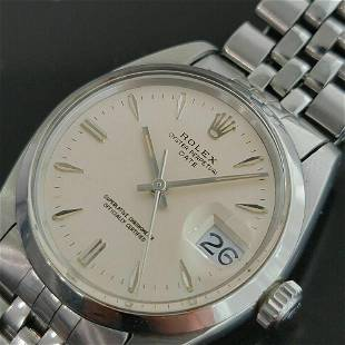 Mens Rolex Oyster Perpetual Date 1500 35mm Automatic