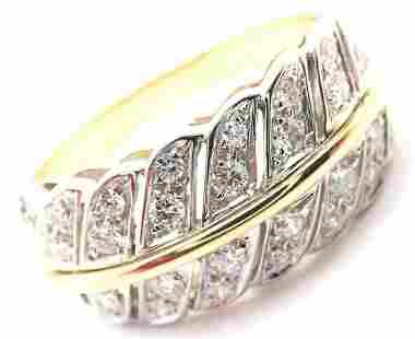 Rare! Authentic H. Stern 18k Yellow Gold Diamond Band
