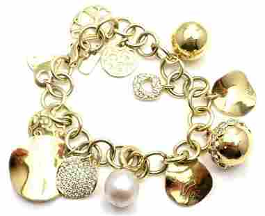 Rare! Authentic Ippolita 18k Yellow Gold Diamond 12