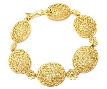 Authentic! Buccellati Filidoro 18k Yellow Gold Link
