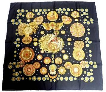 Authentic RARE! Hermes Carre Le Roy Soleil The Sun King