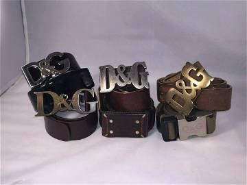 Amazing NYC Stylist Designer Belt Collection Dolce &