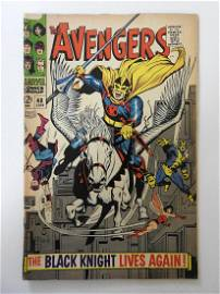 Avengers #48 First appearance of the new Black Knight