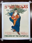 "St. Nicholas for Boys & Girls (1910) 14"" x 18.5"" US"