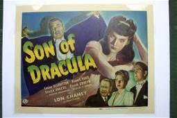 Son Of Dracula (USA, 1943) Movie Title Card
