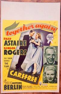 Carefree - Fred Astaire & Ginger Rogers (1938) US
