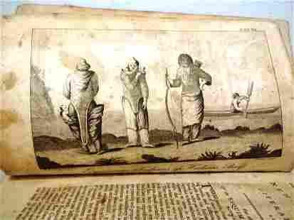 1792 New York Magazine Eskimos Mississippi Scheme