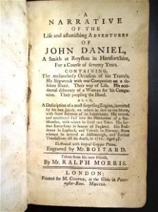 1751 Narrative Adventure of John Daniel Shipwreck
