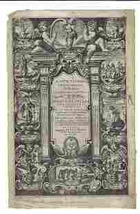 1641 Beautifully Illustrated Title Leaf