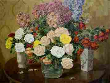 Oil painting Still life Kisil Grigory Alekseevich