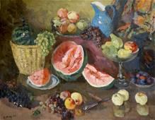 Oil painting Still life Kerzhner Efim Aleksandrovich