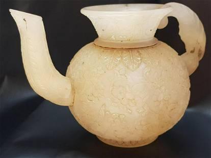 Antique Handmade Mughal Jade Water Pot