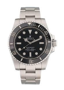 Rolex Submariner No Date 114060 Ceramic Bezel Mens