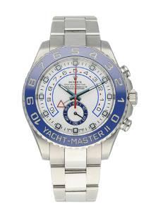 Rolex Yacht-Master II Steel Blue Ceramic Bezel 116680