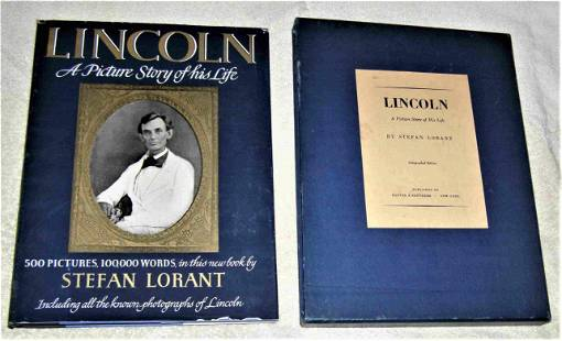 ABRAHAM LINCOLN : PICTURE STORY OF HIS LIFE Limited -