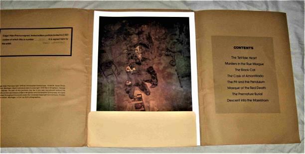EDGAR ALLAN POE ILLUSTRATIONS by Berni Wrightson