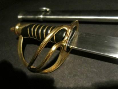 "26"" Small Cavalry Civil War Carbon Steel Sword"