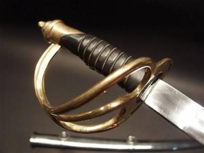 "40"" Civil War Heavy Calvary Saber Sword"