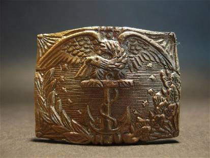 Civil War Union Revenue Cutter Service Belt Plate Eagle
