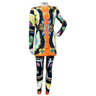 GIANNI VERSACE a two piece ensemble, jacket and
