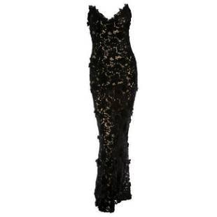 Best Met Ball dress of all time Oscar de la Renta black