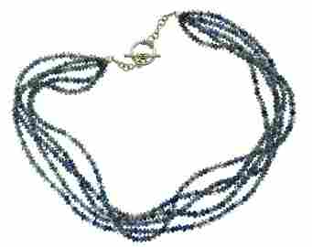 WOW Silver & Sodalite Necklace!