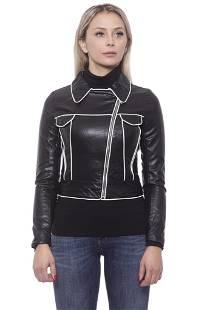Versace 19V69 Italia Nero Black Jackets & Coat