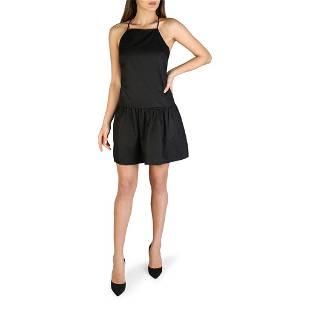Armani Exchange Black Halter Top Style Little Black