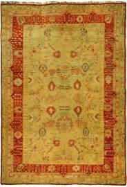 Large Antique Oushak Rug No. j1260