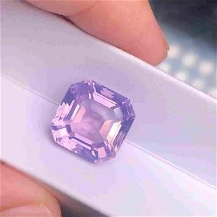 Amethyst,10.4 Cts Natural Purple Color & Asche Cut