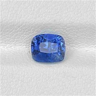 Natural Blue Sapphire 2.00 Cts Sri Lanka Cushion Cut