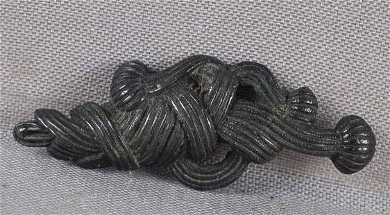 19c Japanese sword MENUKI obi cord OBIJIME