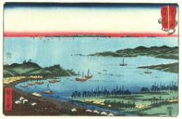 Utagawa HIROSHIGE (1797-1858): Harbours: Niigata in