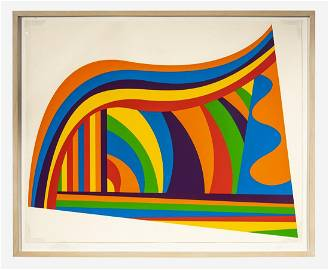 Sol LeWitt: Arcs and Bands in Color, 1999
