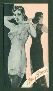 c 1930 NuBONE CO Erie PA WOVEN WIRE STAY GIRDLE CORSET
